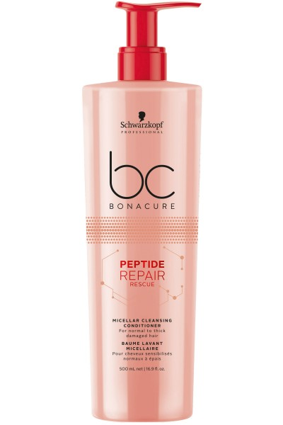 Schwarzkopf Professional BC Peptide Repair Rescue Micellar Cleansing Conditioner