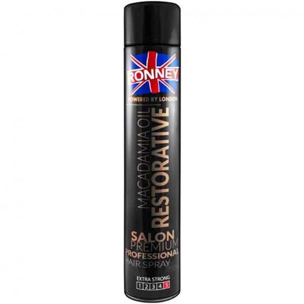 Ronney Professional Macadamia Stärkendes Öl Haarspray 750ml