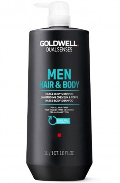 Goldwell Dualsenses Men Hair & Body Cheveux et corps Shampoing
