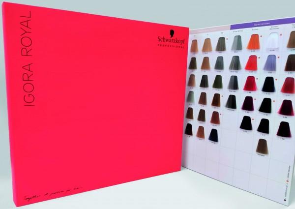 Schwarzkopf Professional Igora Royal colour book