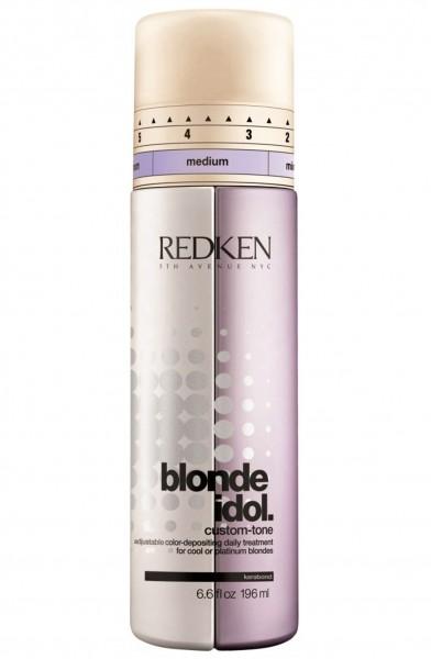 Redken Blonde Idol Custom Tone for cool or platinum blondes