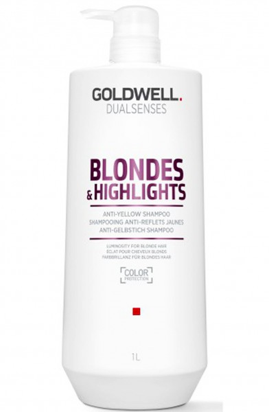 Goldwell Dualsenses Blonde&Highlights Anti Yellow Shampoo 1000 ml