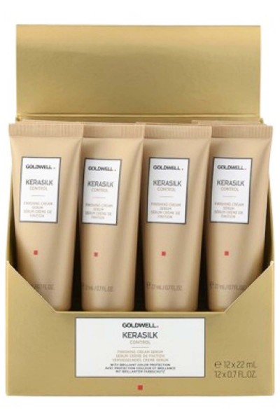 Goldwell Kerasilk Control Finishing Cream Serum 12 x 22 ml