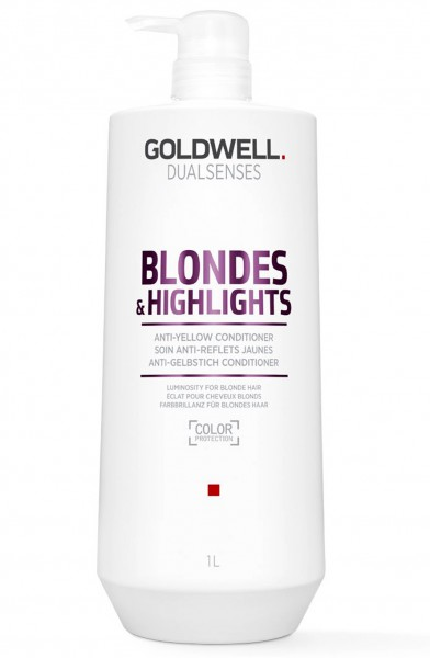 Goldwell Dualsenses Blondes & Highlights Anti Yellow Conditioner 1000 ml