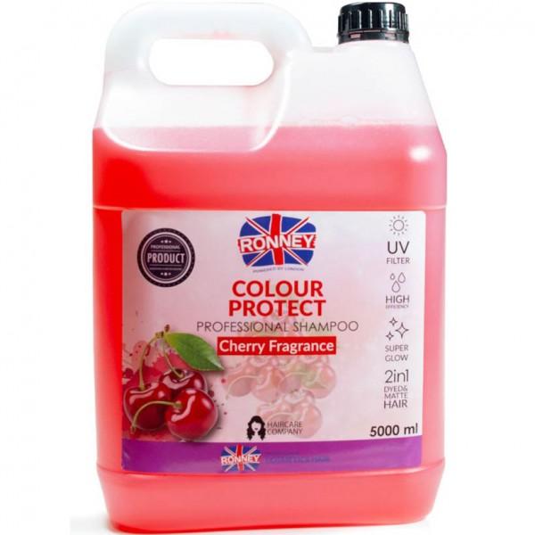 Ronney Professional Farbschutz Shampoo Kirschenaroma 5000ml