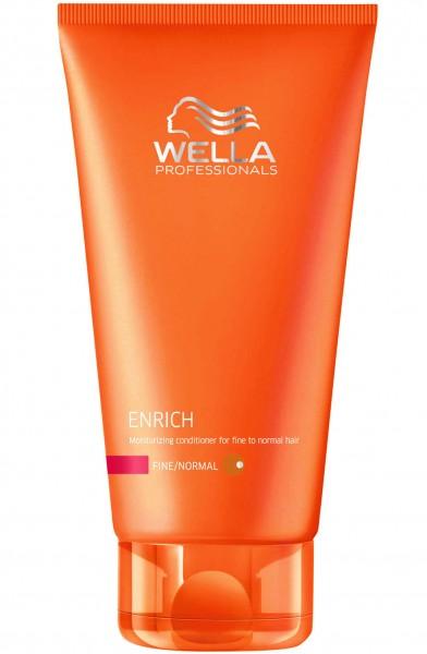 Wella Enrich Feuchtigkeitsspendender Conditioner (Feines Bis Normales Haar) 200 ml