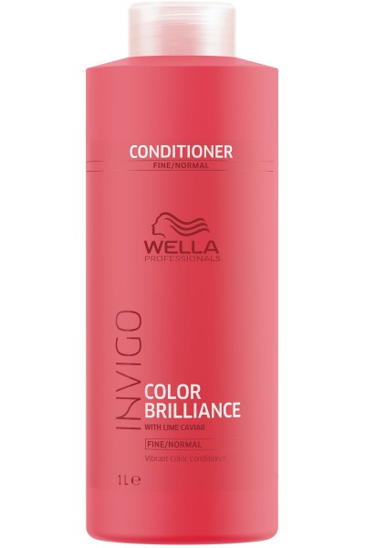 Wella Invigo Color Brilliance Conditioner (Fine bis Normales Haar) 1000 ml