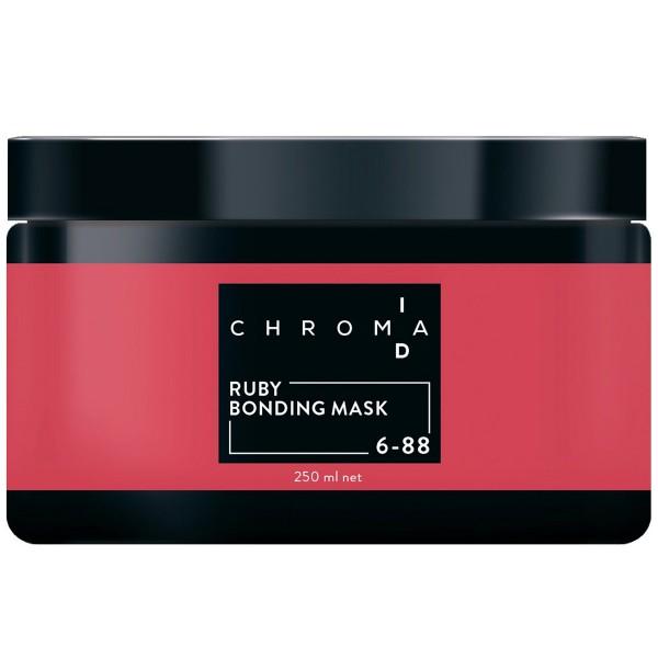 Schwarzkopf Chroma ID Home Care Bonding colore della maschera 250ml 6-88 biondo scuro in più rosso