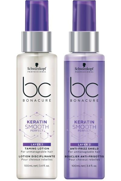 Schwarzkopf Professional BC Keratin Smooth Treatment Duo Layering