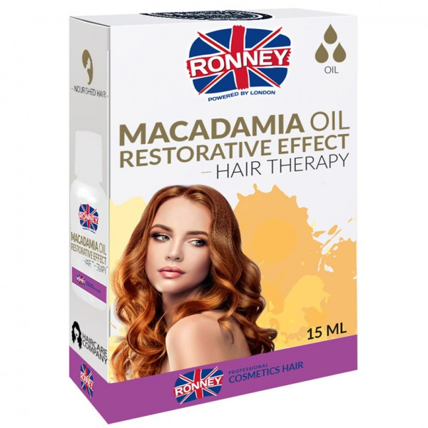 Ronney Professional Wiederherstellungseffekt Macadamia Haar Öl 15ml