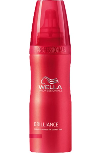 Wella Brilliance Leave in Mousse (Coloriertes Haar)