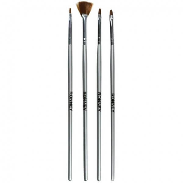RONNEY Professional Brush Set 4 pcs. RN 00463
