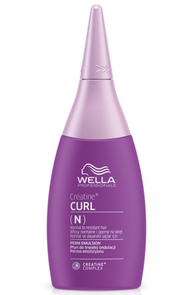 Wella Texture Plex Creatine + Curl Perm Emulsion 75 ml