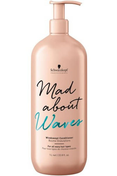 Schwarzkopf Professional Mad About Waves Windswept Conditioner 1000ml