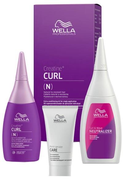 Wella Creatine + Curl Perm Kit Permanentkit 30 ml + 75 ml + 100 ml > N (normal)
