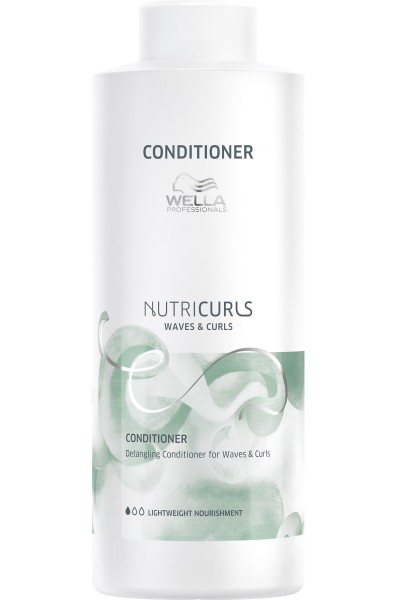 Wella Nutricurls Waves & Curls Conditioner 1000ml