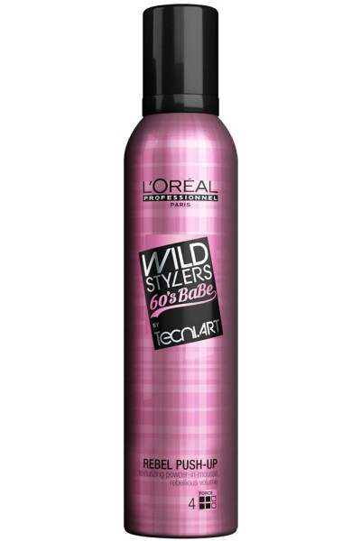 L'Oréal Professionnel Tecni.Art Wild Stylers Rebel Push Up polvere in mousse