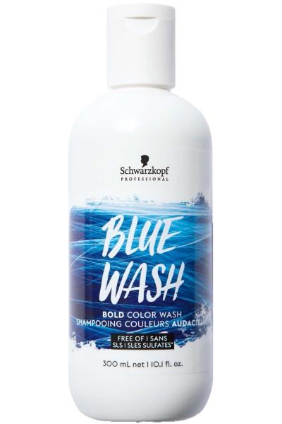 Schwarzkopf Bold Color Wash Shampoo Blue 300ml