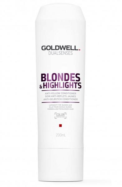 Goldwell Dualsenses Blondes & Highlights Soin Anti Reflets Jaunes