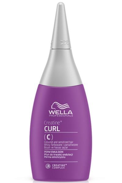 Wella Texture Plex Creatine + Curl Perm Emulsion